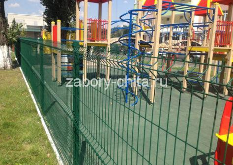 3d забор для площадок